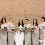 Real Bride Giulia wears Sada by Charlie Brear - Bridesmaids image