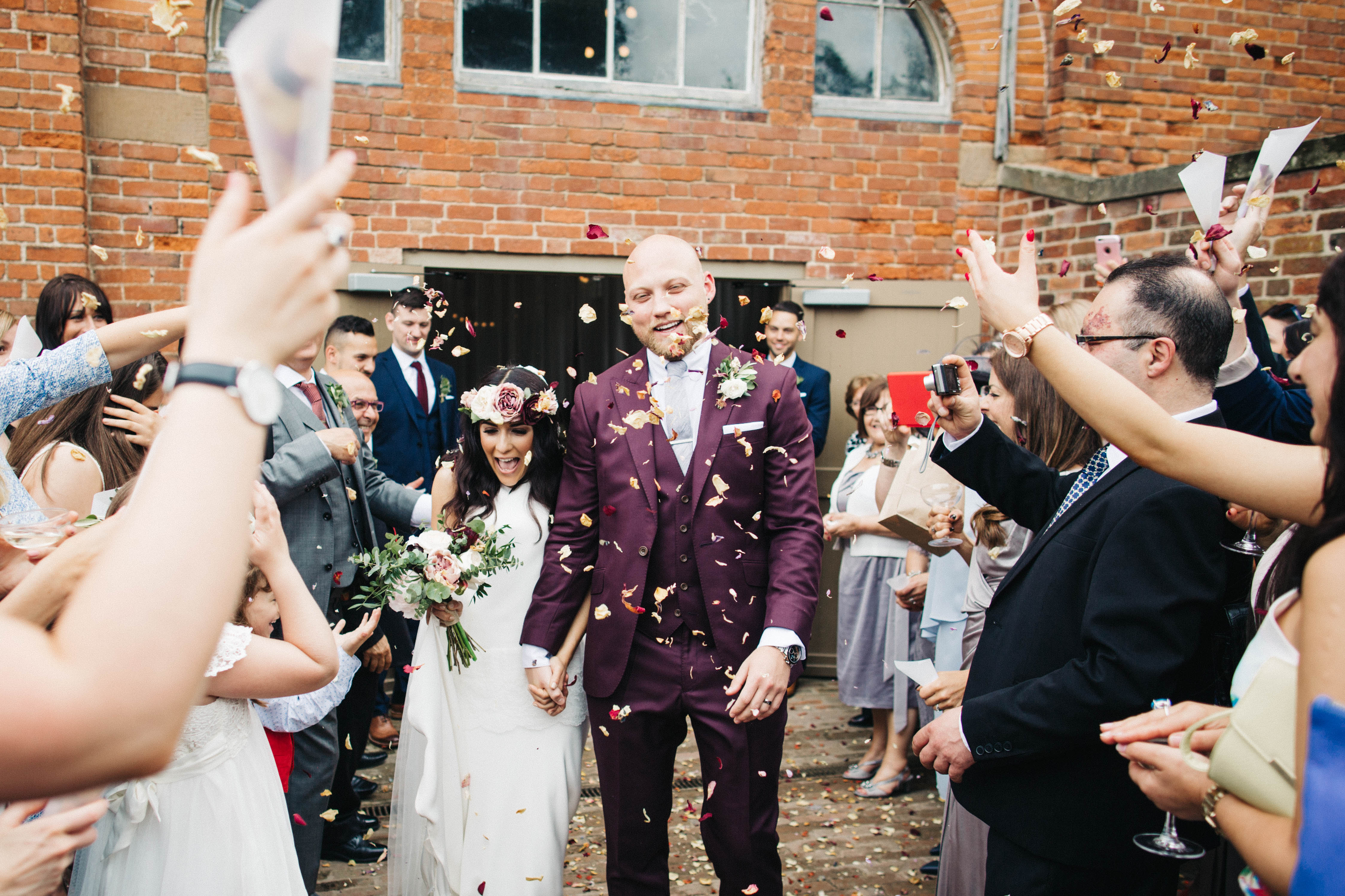 Real Bride Giulia wears Sada by Charlie Brear - Confetti Image
