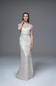 Sale Chloe Sequin Dress by Kate Halfpenny at Cicily Bridal