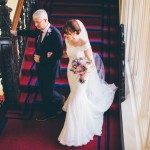 Real Bride Clare wears Jesus Peiro Dress 6005 - Bride & Brides Father