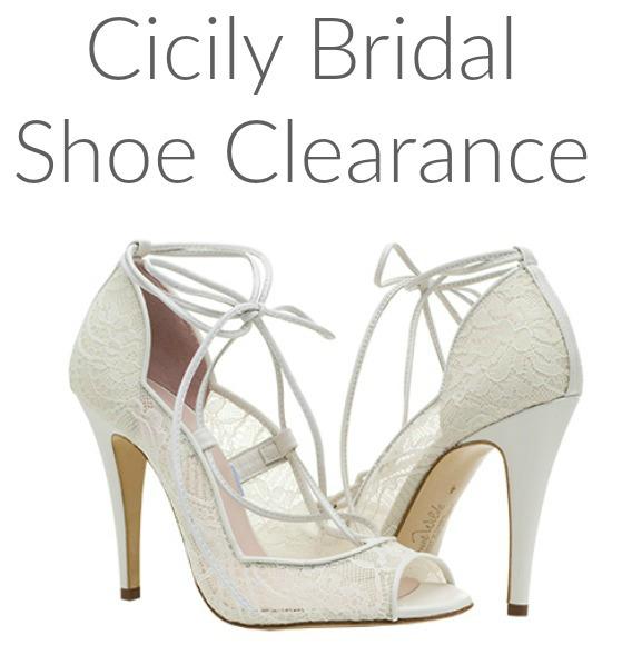 Cicily Bridal Wedding Shoe Clearance