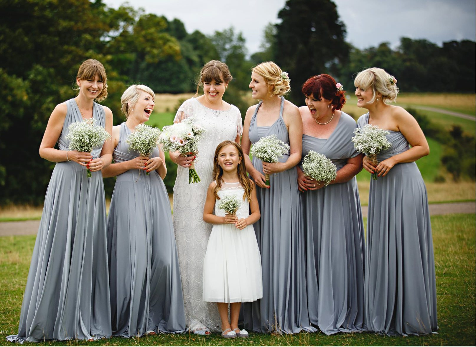 Real Bride Amy wears Fleur by Eliza Jane Howell - Bridesmaids