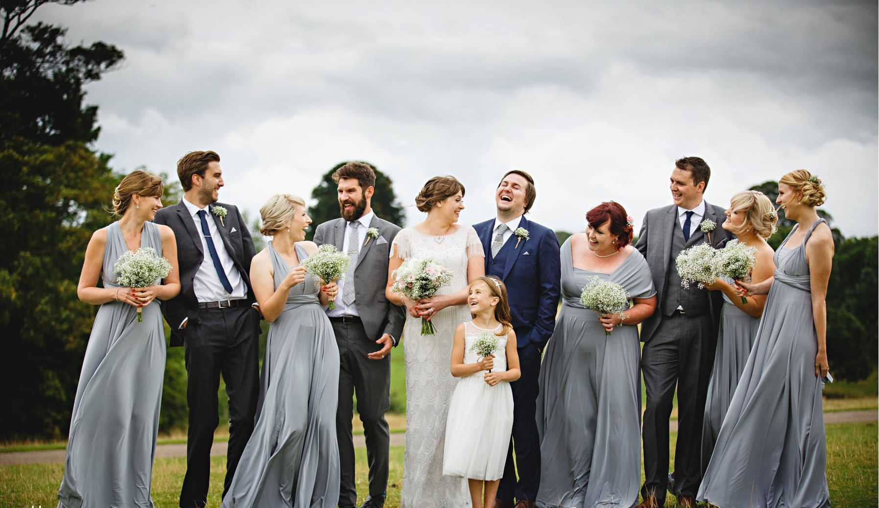 Real Bride Amy wears Fleur by Eliza Jane Howell - Bridal Party