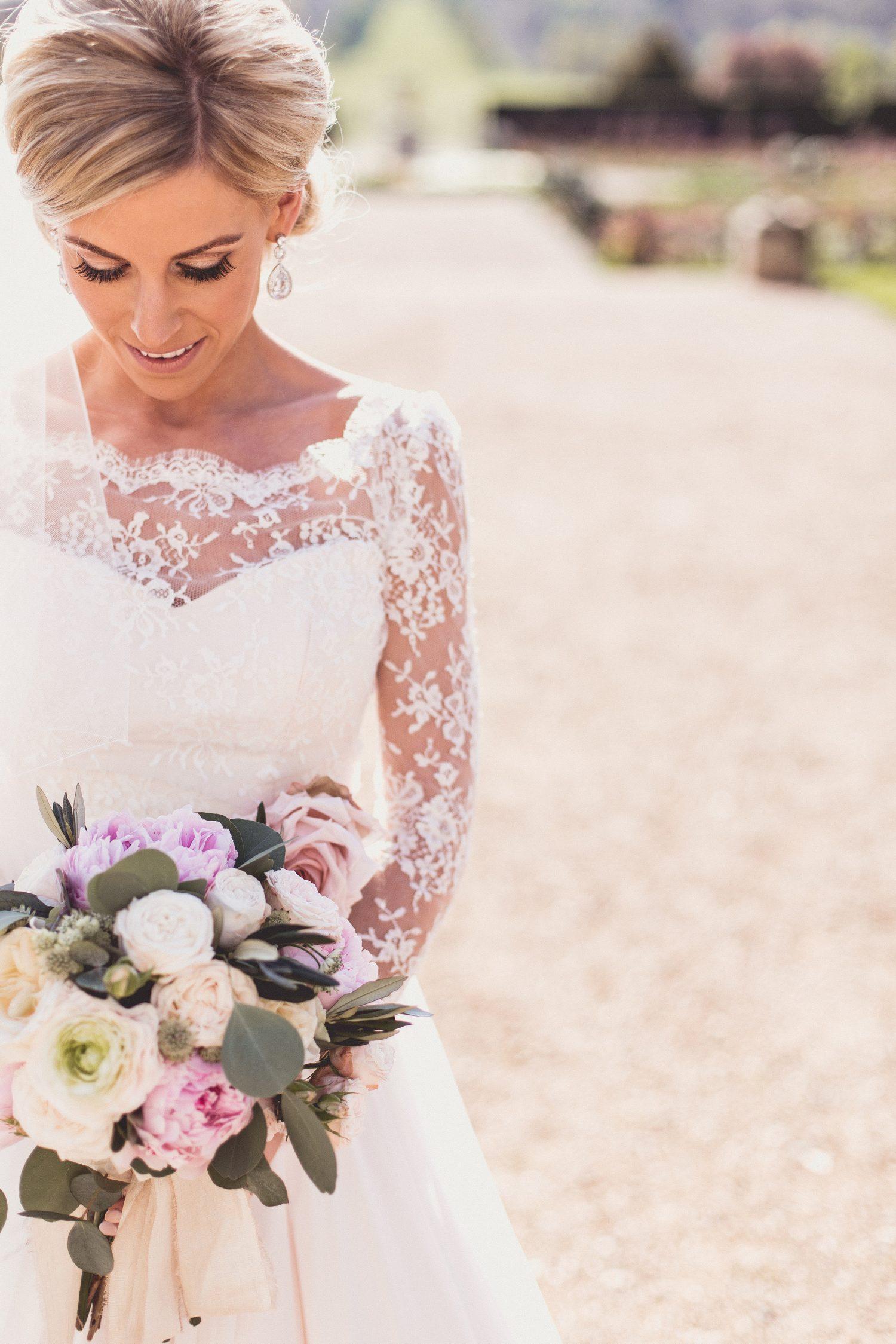 Real Bride Naomi wears Fleur by Naomi Neoh - The Bride