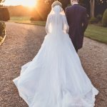 Real Bride Naomi wears Fleur by Naomi Neoh - Bride & Groom Sunset Walk