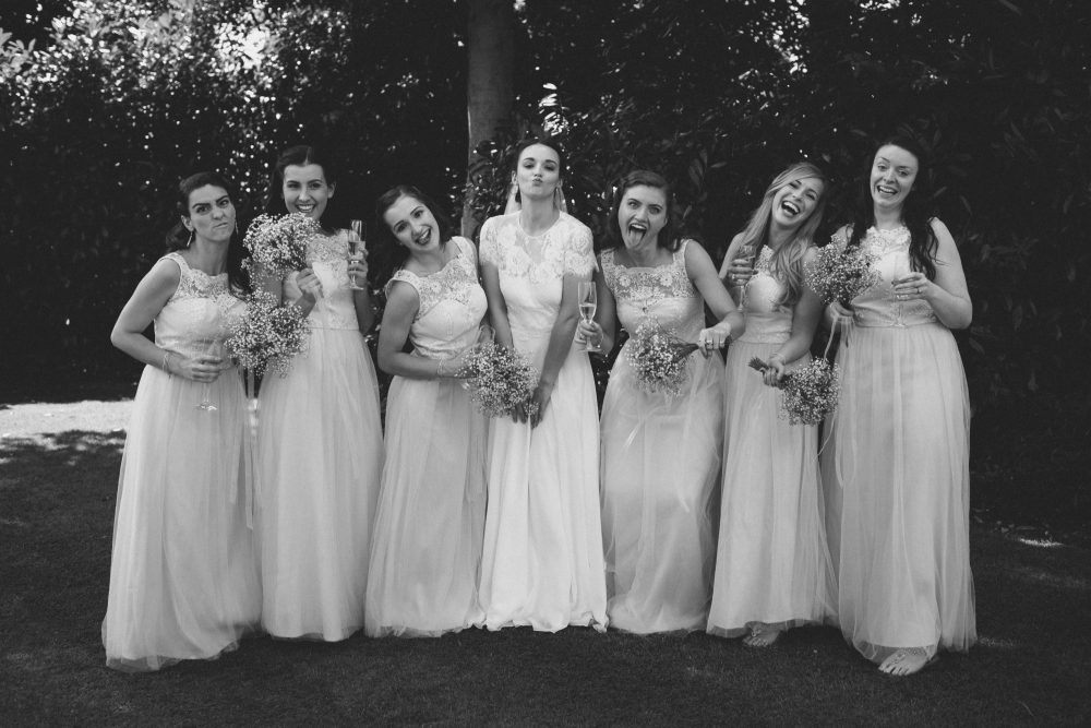 Real Bride Olivia in Jesus Peiro Dress 6002 - Bridesmaids image
