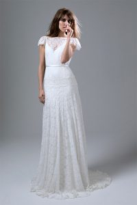 Sale at Cicily Bridal Kate Halfpenny Violet dress