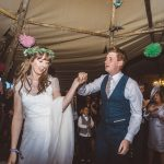 Real Bride Natalie Wears Jesus Peiro Dress 6018 - Dancing