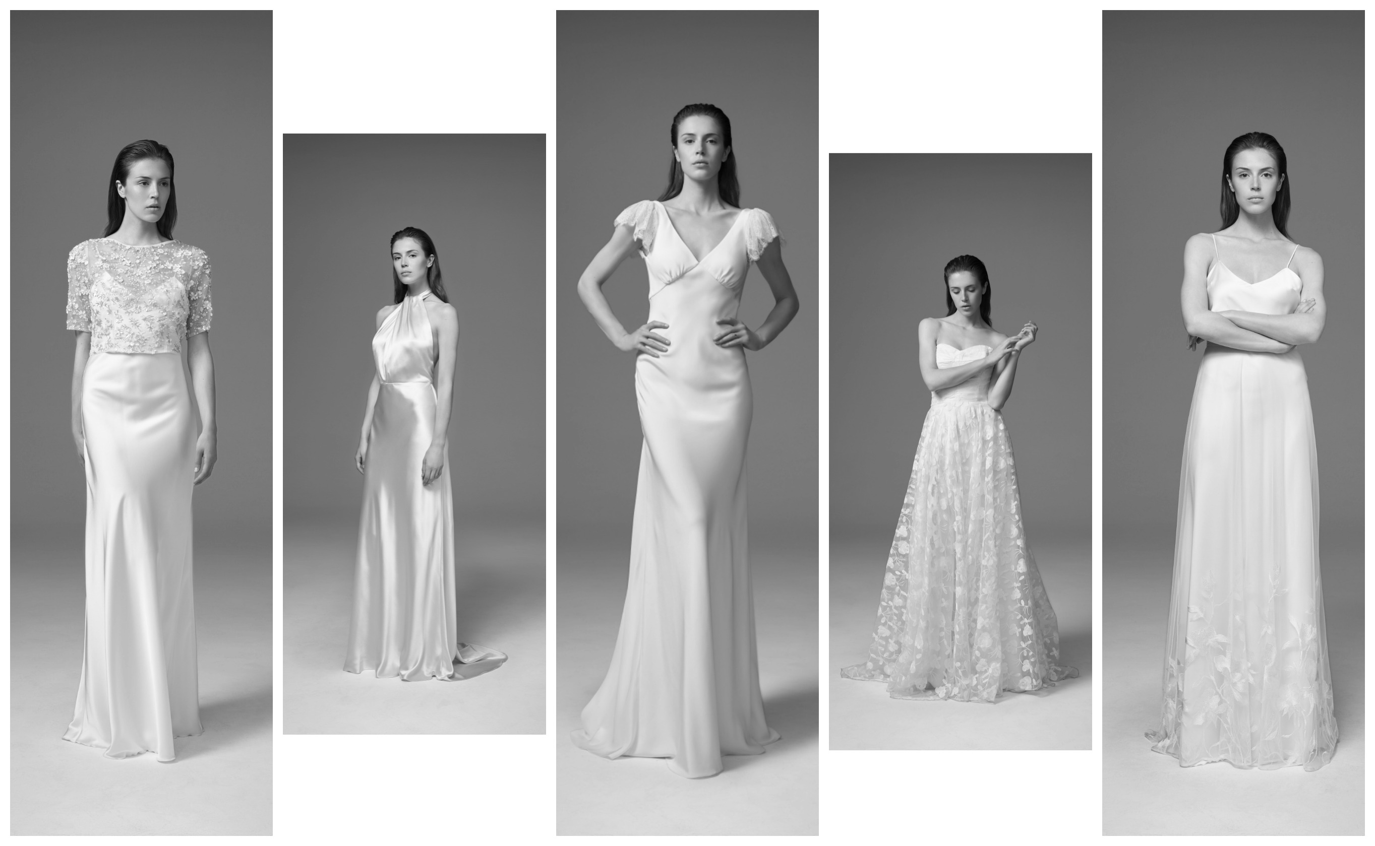 Kate Halfpenny Wild Love collection at Cicily Bridal