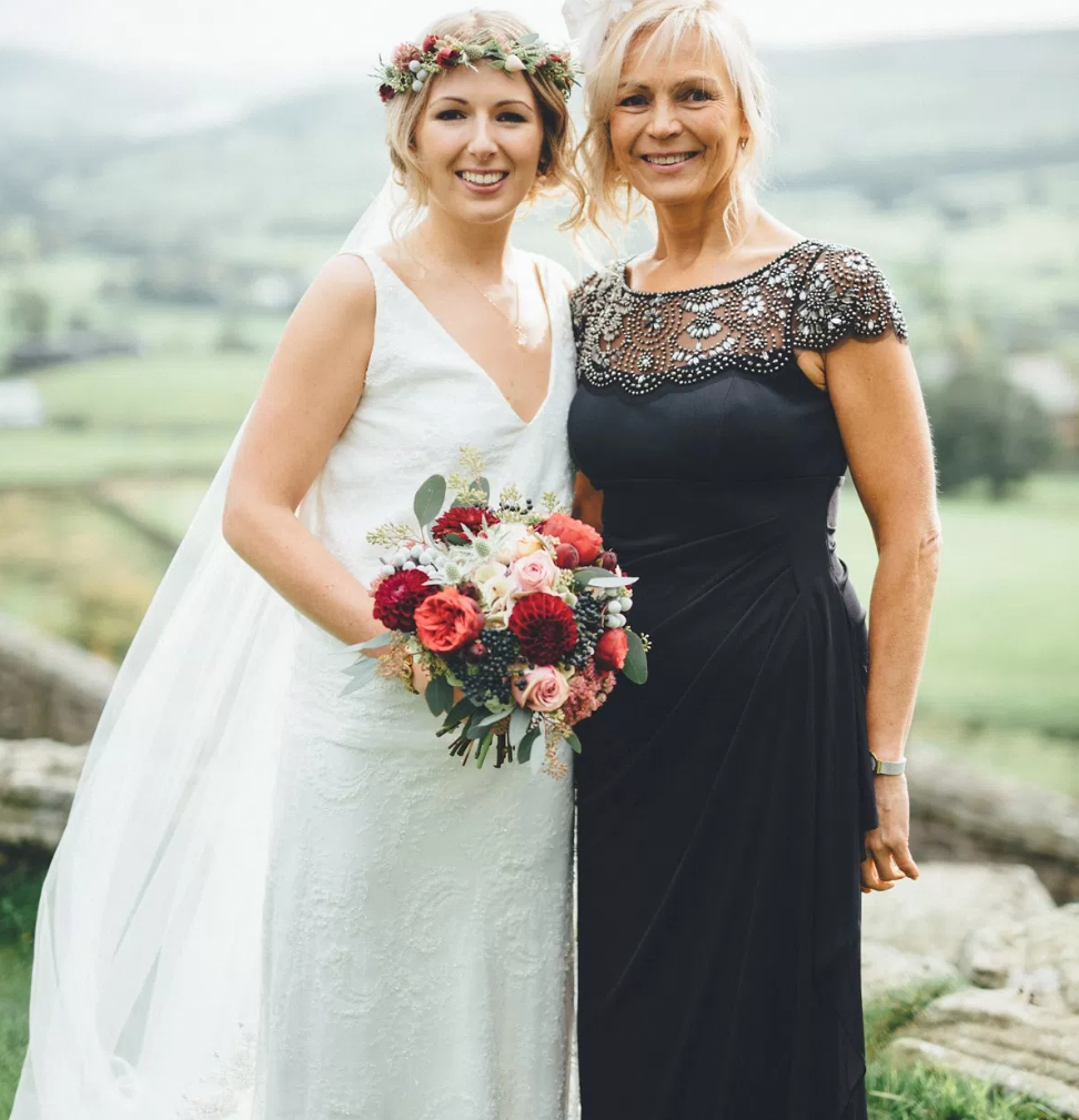 Real Bride Lucy wears Charlie Brear 1920.2 -Bride & Mother of the bride - Cicily Bridal Leicestershire