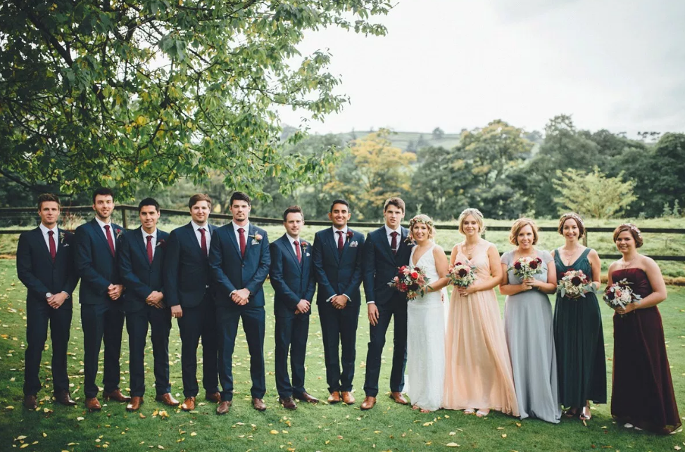 Real Bride Lucy wears Charlie Brear 1920.2 -Bridal Party - Cicily Bridal Leicestershire
