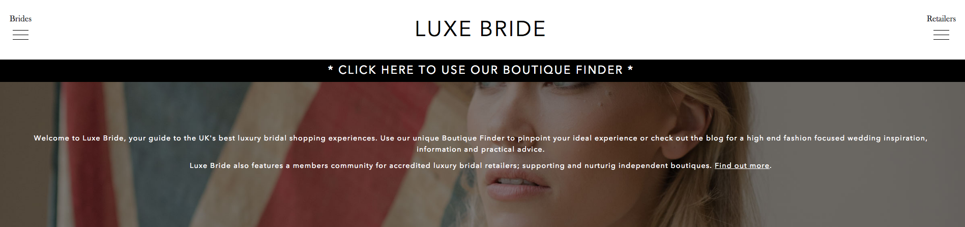 Luxe Bride Home Page