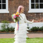 Charlie Brear real bride at Cicily Bridal