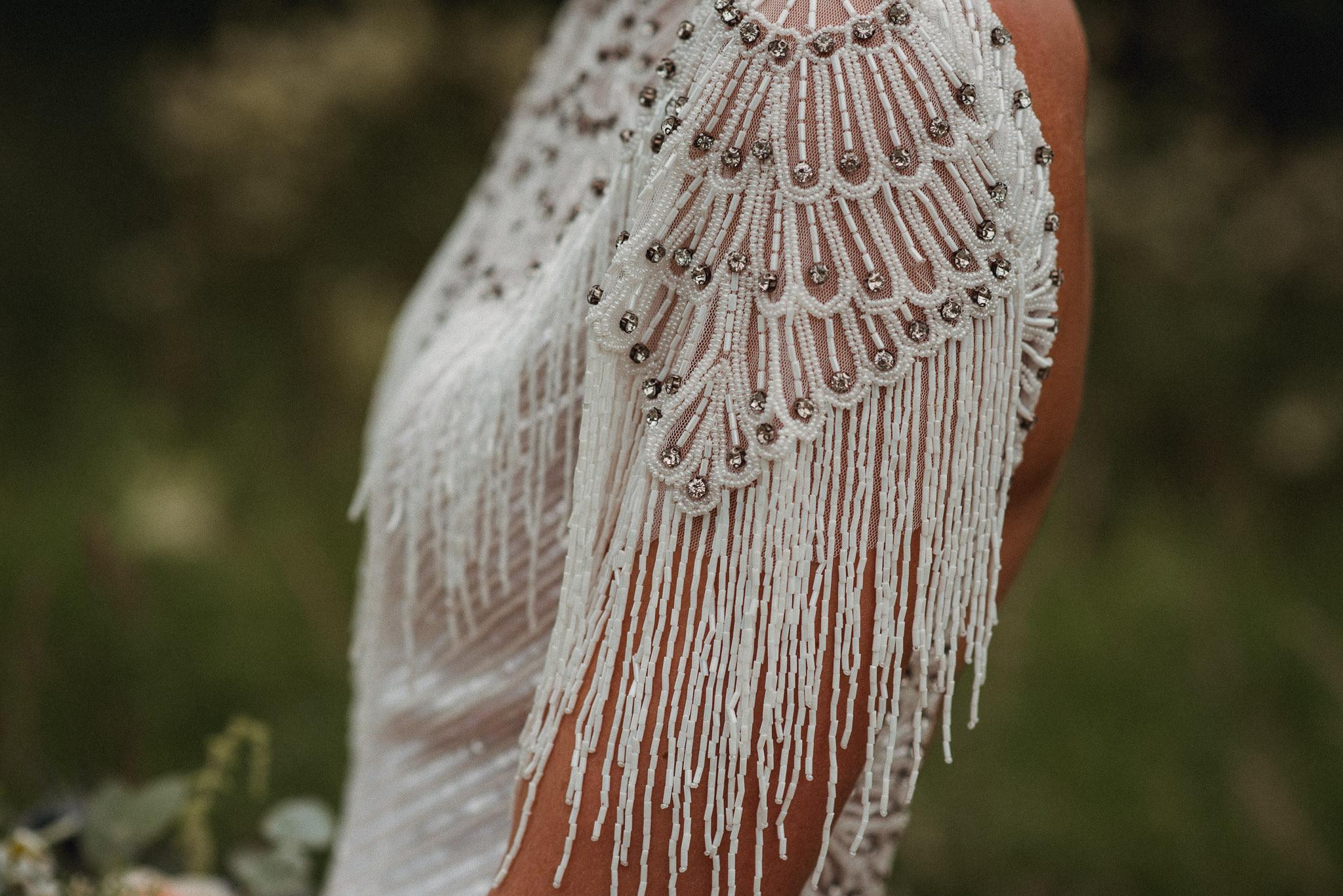 Real Bride Amy wears Eliza Jane Howell