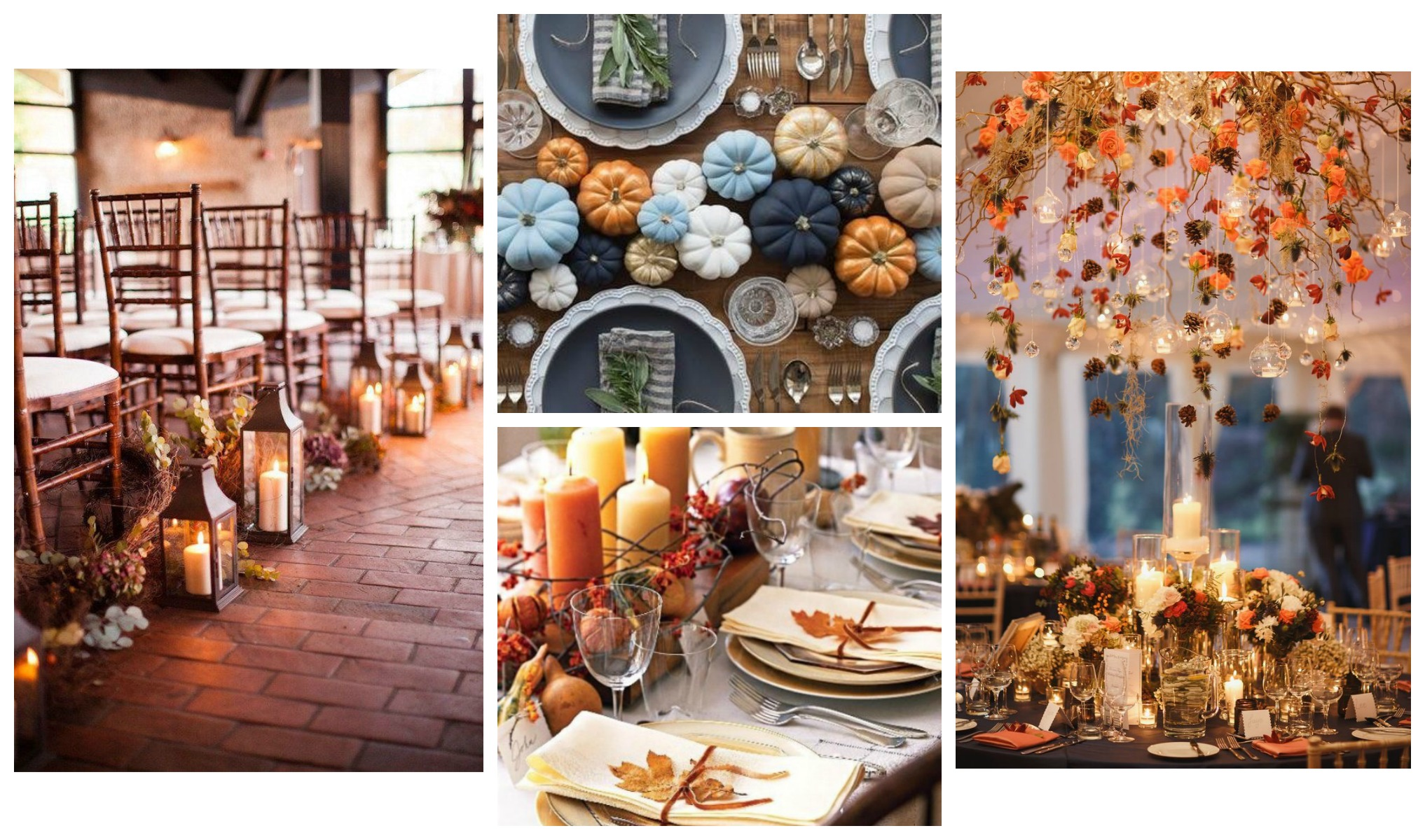 Autumn Wedding Decor