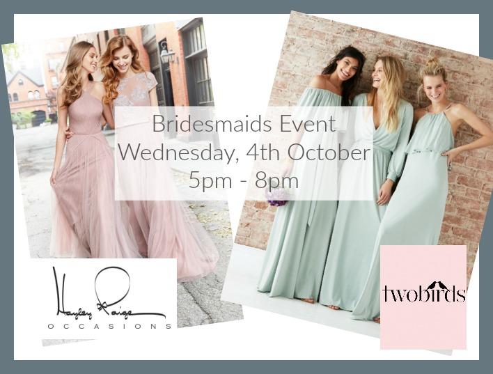 Cicily Bridal Bridesmaid Event Header