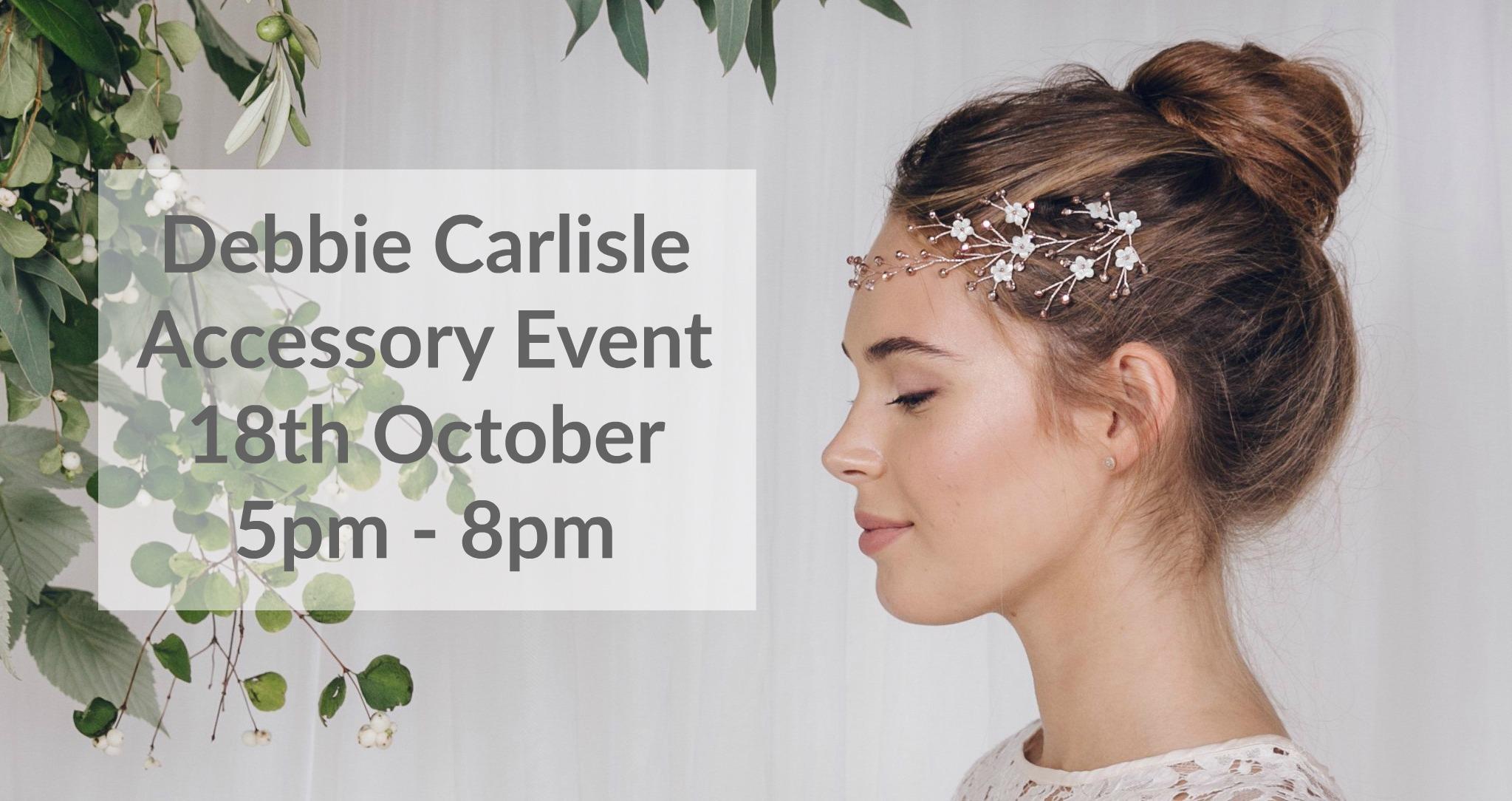 Debbie Carlisle Accessory event