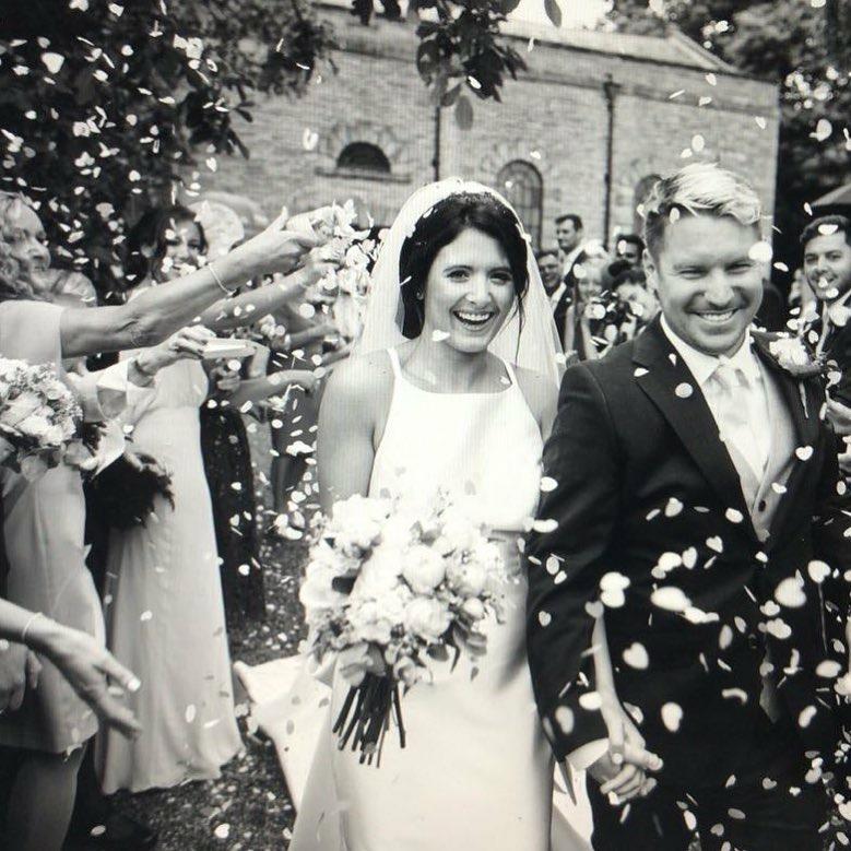 Real Bride Elle Wears Jesus Peiro 7033 - Cicily Bridal