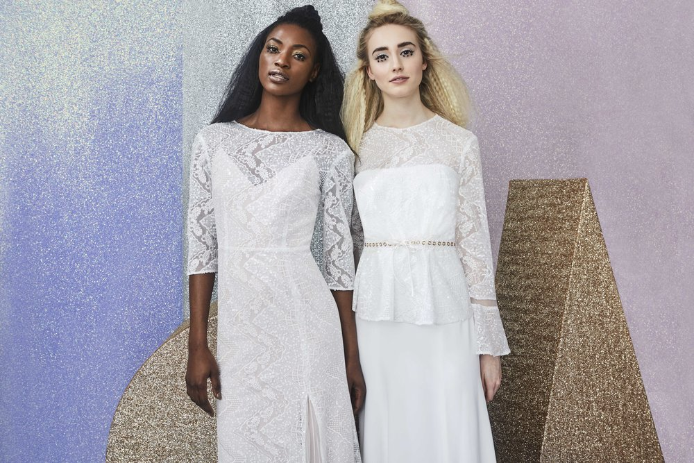 Charlie Brear All That Glitters collection at Cicily Bridal
