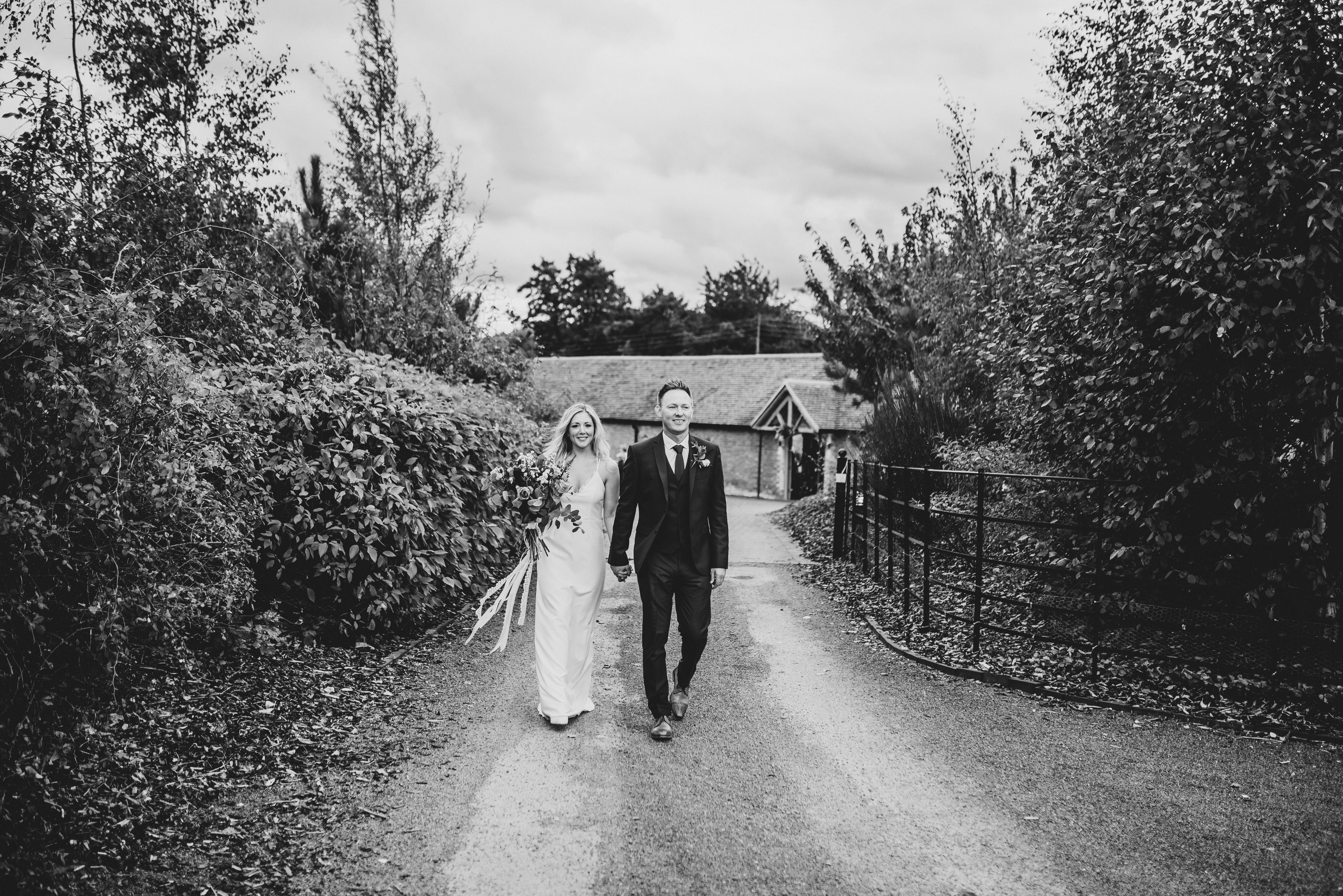 Real bride wearing Charlie Brear Stellan @cicilybridal