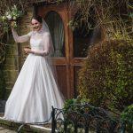 Real Bride in Naomi Neoh Fleur at Cicily Bridal