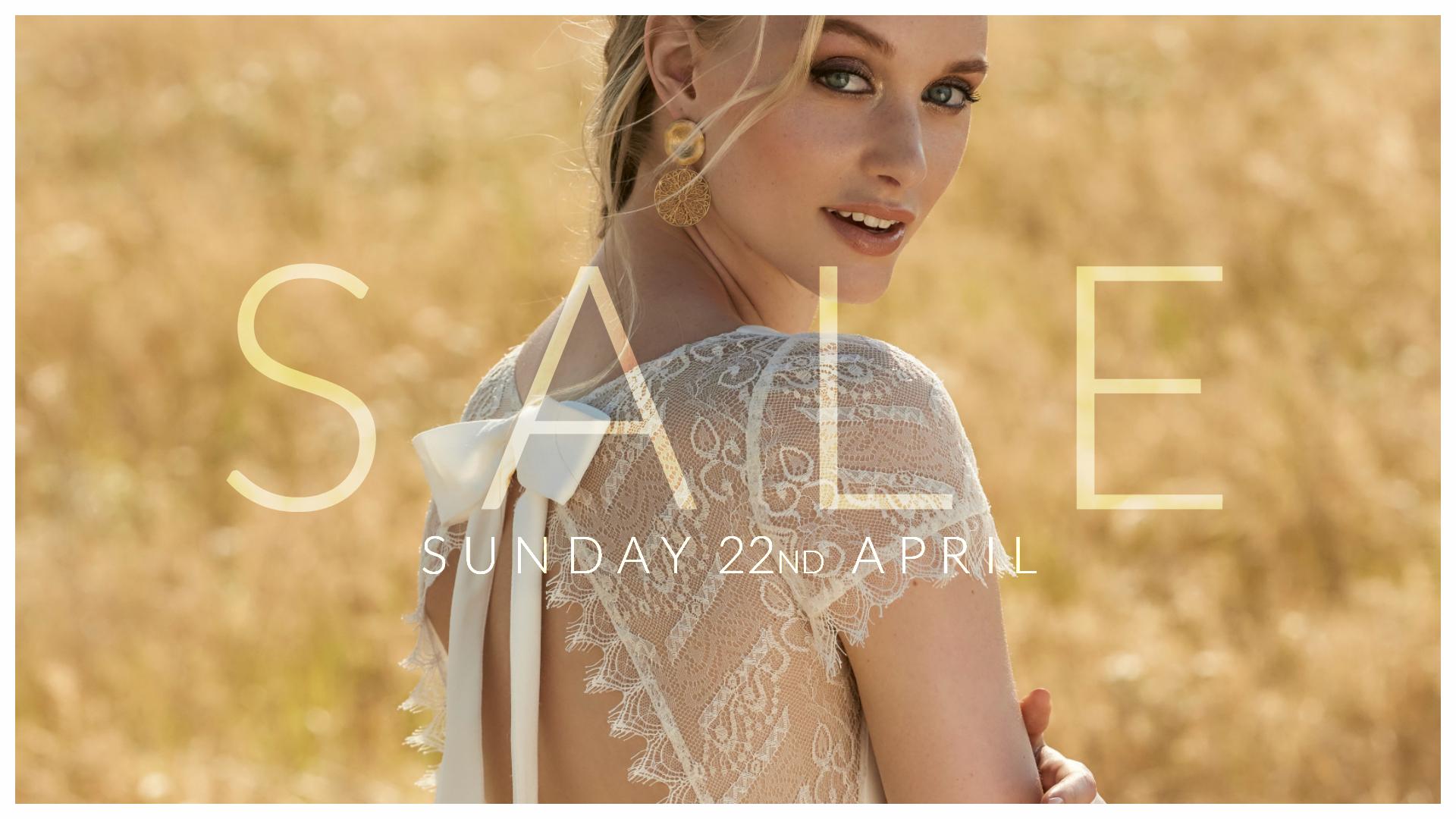 Cicily Bridal Sample Sale - 22nd April 2018
