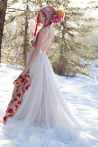 Willowby by Watters Daylily dress at Cicily Bridal