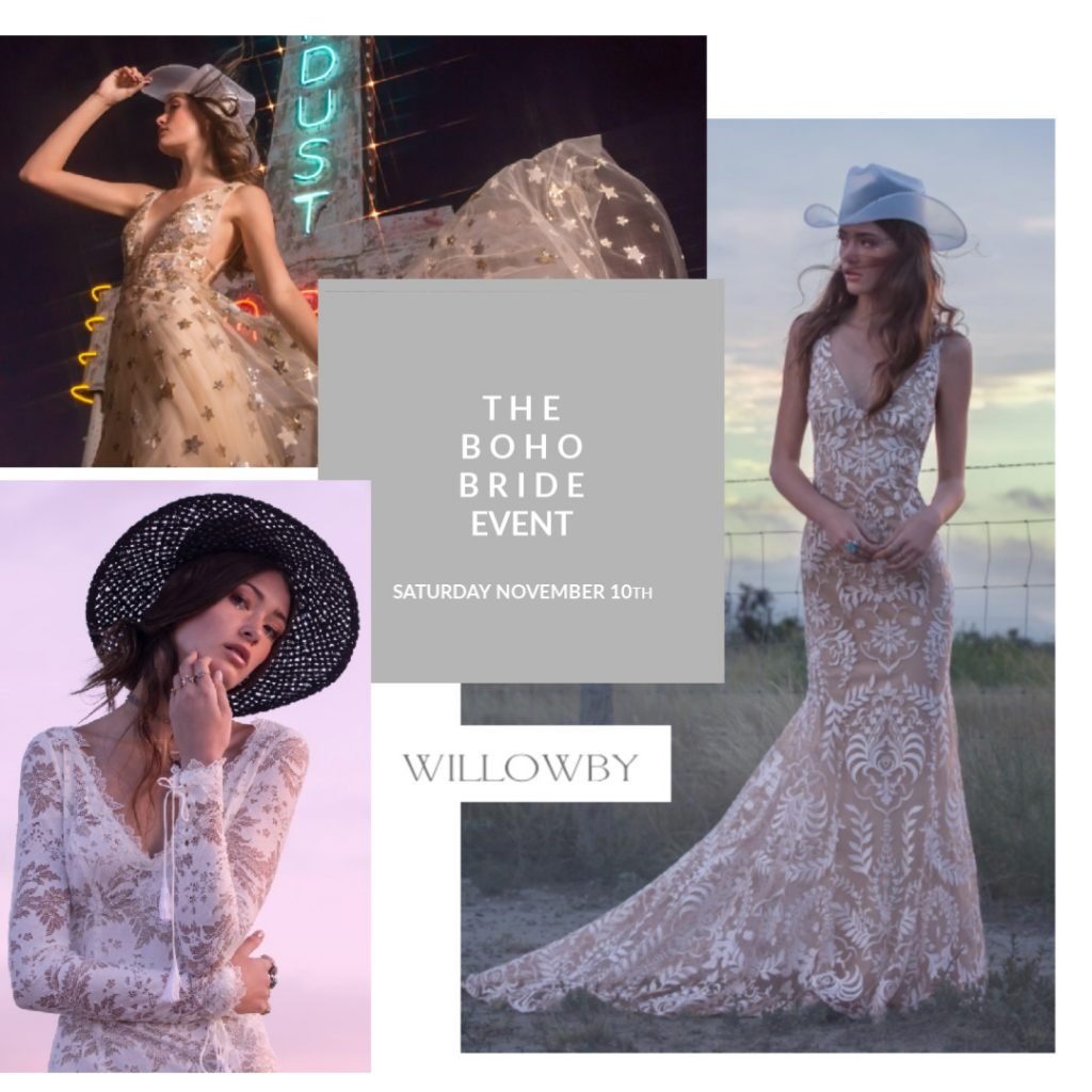 Boho Event Willowby at Cicily Bridal