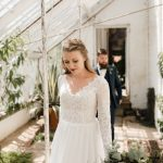 Real Bride wearing Cicily Bridal