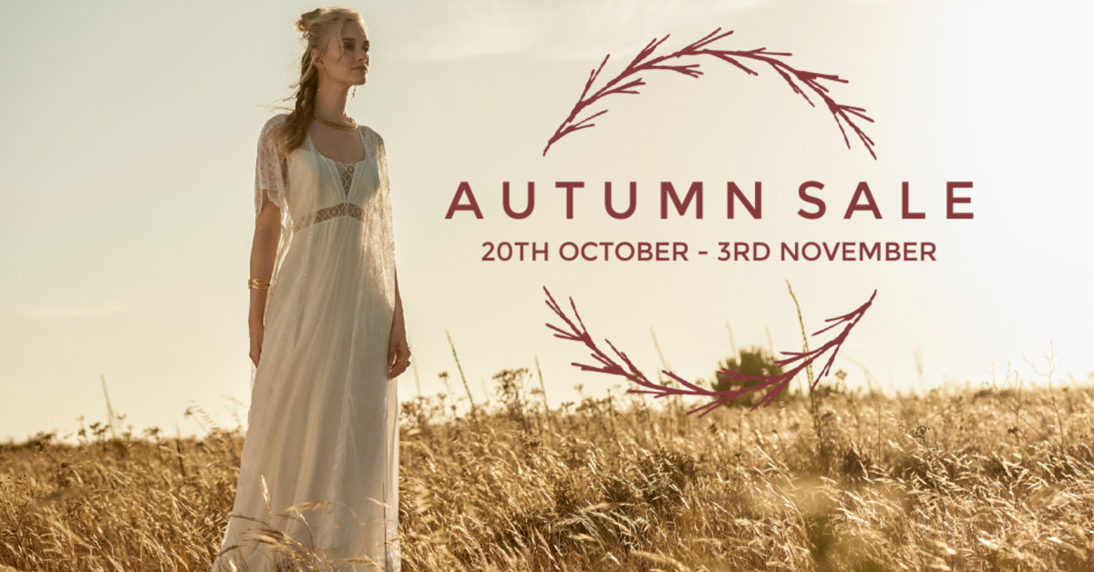 Autumn Sale - Cicily Bridal