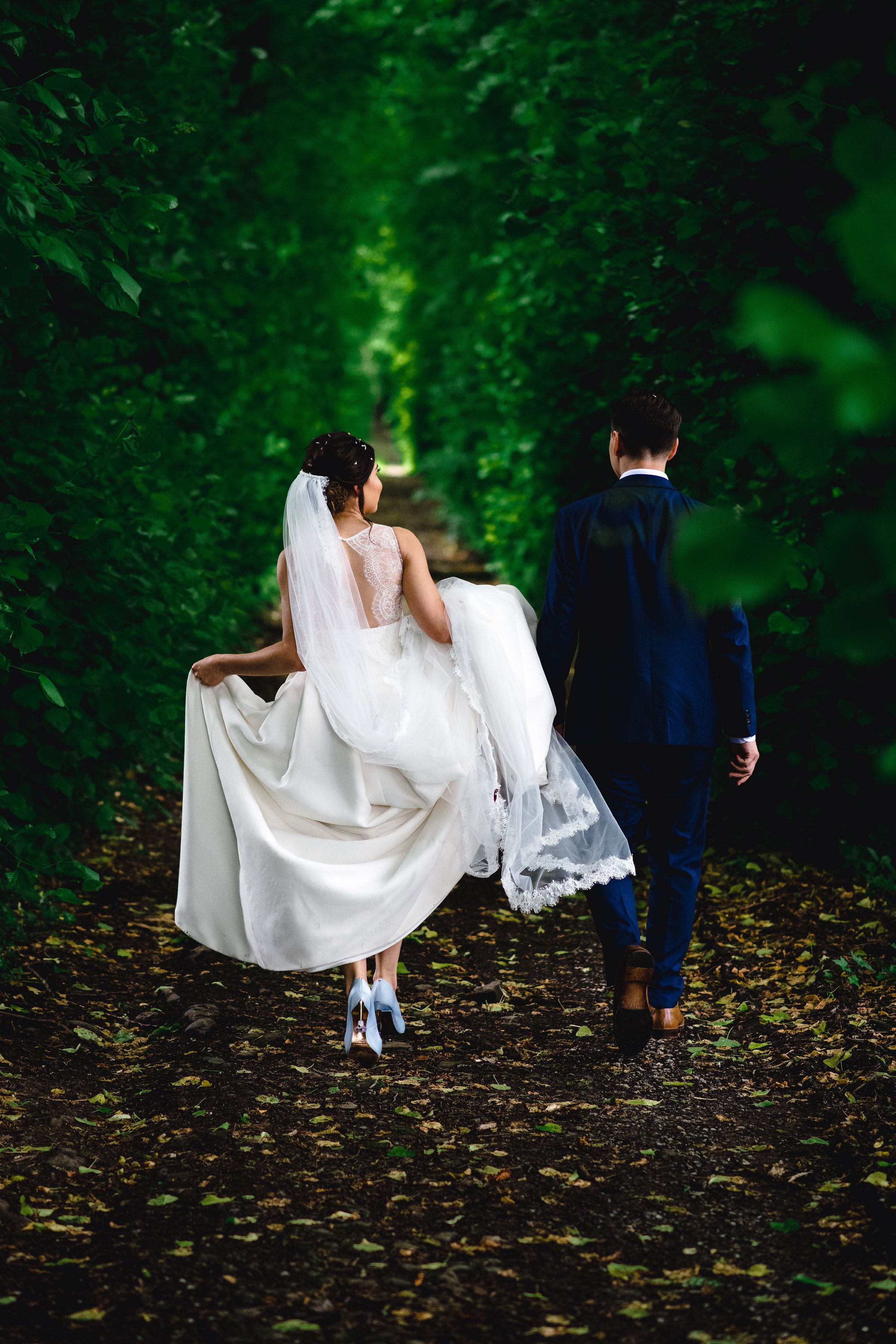 Real bride in Jesus Peiro at Cicily Bridal
