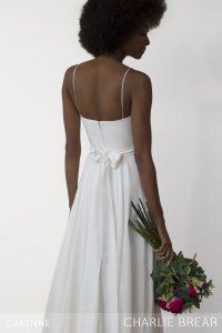Carenne wedding dress by Charlie Brear at Cicily Bridal