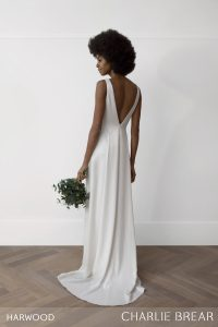 Harwood wedding dress by Charlie Brear at Cicily Bridal