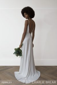 Fernley wedding dress by Charlie Brear at Cicily Bridal