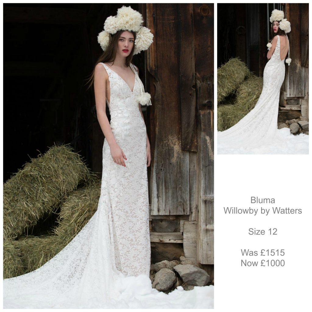 Bluma Wedding Dress Willowby by Watters