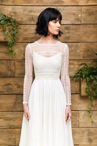 Greta top by E & W Couture at Cicily Bridal
