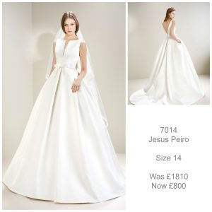 Jesus Peiro 7014 Wedding Dress Sale