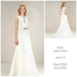Jesus Peiro 8053 Wedding Dress Sale