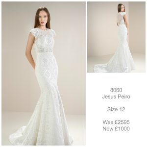 Jesus Peiro 8060 Wedding Dress Sale