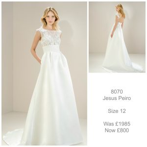 Jesus Peiro 8070 Wedding Dress Sale