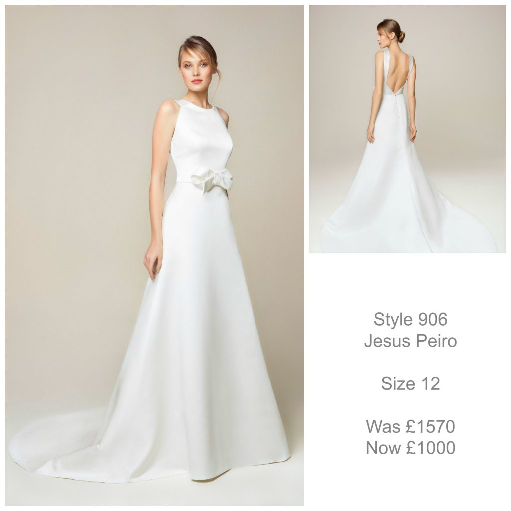 Jesus Peiro 906 Wedding Dress Sale