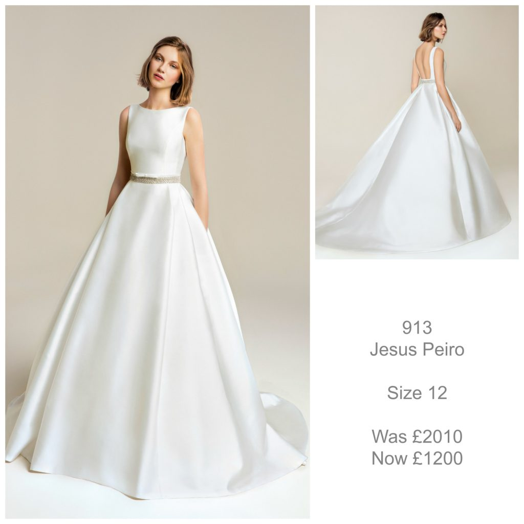Jesus Peiro 913 Wedding Dress Sale