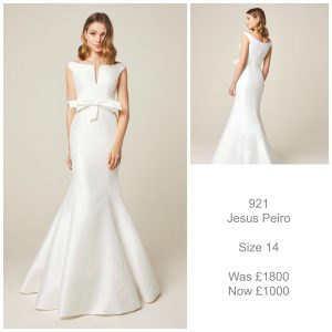 Jesus Peiro 921 Wedding Dress Sale