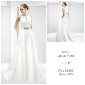 Jesus Peiro 6019 Wedding Dress Sale