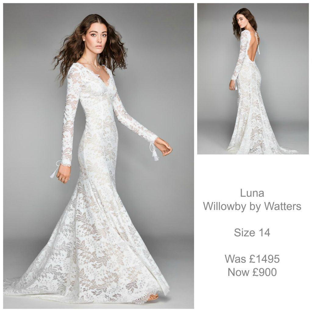 Willowby by Watters Luna Wedding Dress Sale