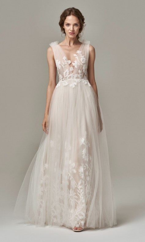 Ariane Wedding Dress by Anna Kara at Cicily Bridal