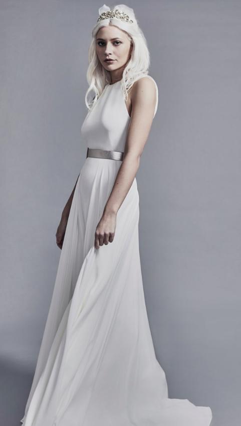 Amine wedding dress by Charlie Brear at Cicily Bridal