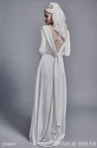 Charlie Brear Zarah wedding dress at Cicily Bridal