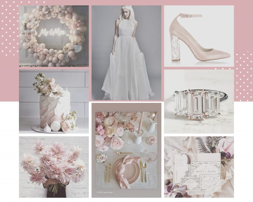 Charlie Brear wedding mood board cicily bridal