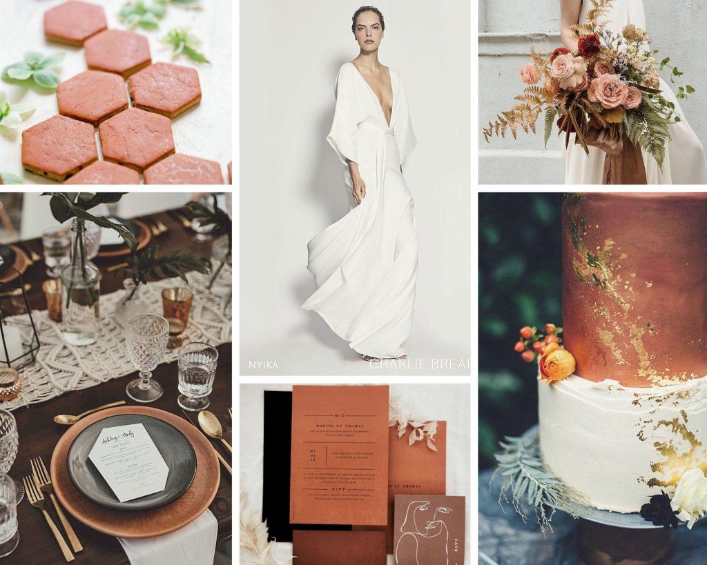 Cicily Bridal Wedding Mood Board Charlie Brear
